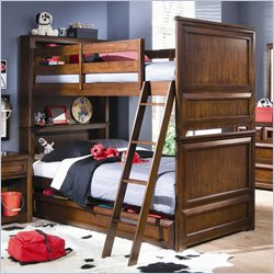 Traditional Twin Over Twin Bunk Beds