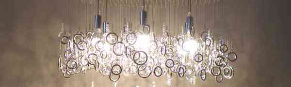 Can contemporary design include crystal chandeliers?
