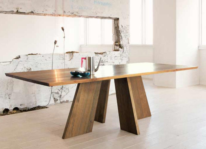 HAKAMA Solid Wood Dining Table