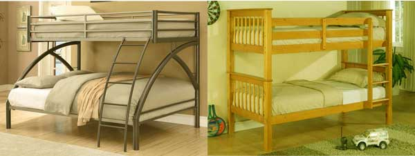 Bunk Beds Buying Guide - Metal vs Wood Bunk Beds