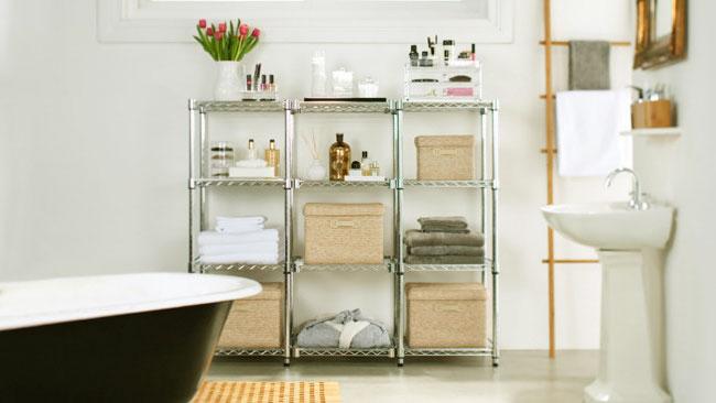 5 efficient bathroom-storage solutions
