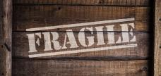Fragile items need extra attention.