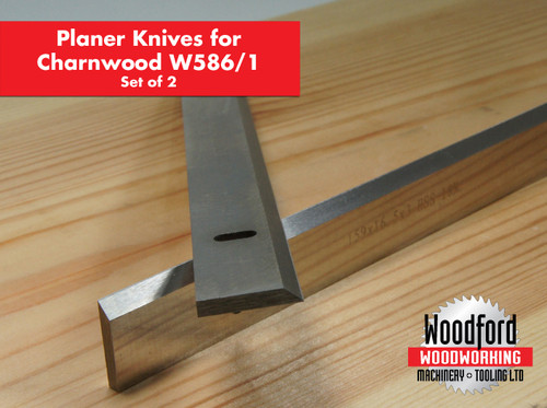 Click image for larger version.  Name:W5861 Charnwood Planer blade knives 1 Pair inc Vat.JPG Views:55 Size:57.3 KB ID:5109