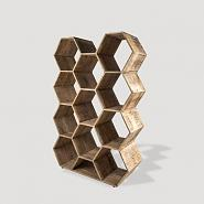 Click image for larger version.  Name:Hex shelf.jpg Views:38 Size:20.2 KB ID:11218