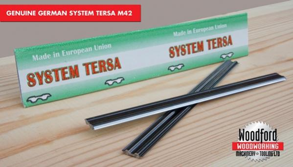 German Tersa M42 Blades/Knives suits many types of machines including SCM, Weinig, Rojek, Sedgwick and Martin. This alone will give increased tool life of up to 35% compared to the standard HSS knives.
