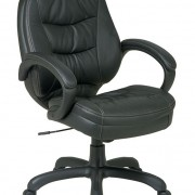 EC 6281 Deluxe Mid Back Leather Chair