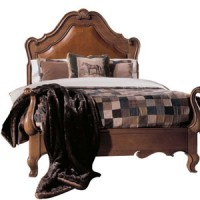 1521 Leather Panel Bed - Harden  (USA)
