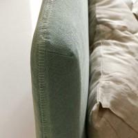 Tapicerowane łóżko ADEL