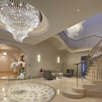 Oświetlenie apartamentów Emirates Hills w Dubaju