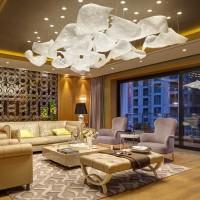 Oświetlenie apartamentów One Park Gubei - Szanghaj