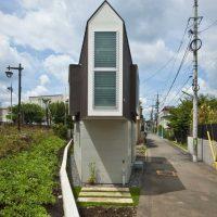 Maleńki dom na przedmieściach Tokio
