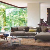 Sofa Belt zaprojektowana przez Patricię Urquiolę