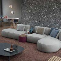 Sofa Bowy produkowana przez włoskiego producenta Cassina