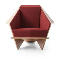 Fotel Taliesin - Origami w Drewnie