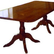 Dining Table: Double Pedestal