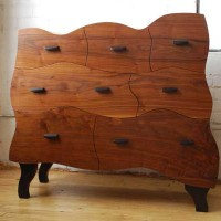 Wavy Dresser by Merganzer Furniture & Design