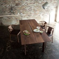 CANYON Solid Wood Dining Table
