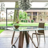Butterfly Table by Angelo Tomaiuolo for Tonin Casa
