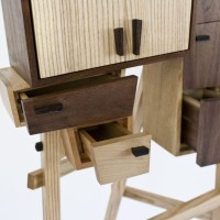 Unorganized Cabinet by Colin Tury