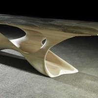 Erosion Dining Table by Joseph Walsh