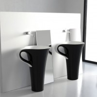 Cup Washbasin by Meneghello Paolelli Associati