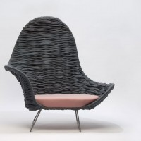 Armin Weaving Chair by Dorothee Mainka