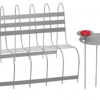Gardener's Sofa & Table by Eva Schildt