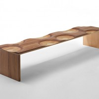 Ripples Bench by Toyo Ito