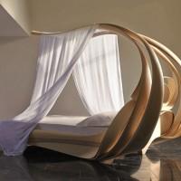 Enignum VI Canopy Bed – Chatsworth by Joseph Walsh