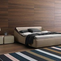 Brera Bed by Claudio Lovadina for Presotto