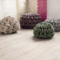 Cones - Unfolded Seats by Jule Waibel