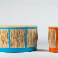 Straw Stool by Juan Cappa