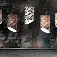 Pank Camouflage Lamp by Tiziano Maffione for Luci Italiane