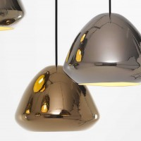 Glaze Metallic Lamp by Ross Gardam