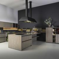 Lignum Kitchen by Marconato & Zappa for Comprex