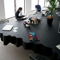Office Table by Kazuyasu Kochi