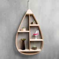 Mid-Century Teardrop Shelf  by The Wavertree Co.