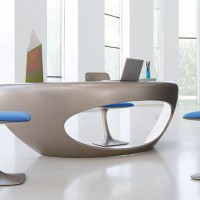 Morphos Desk by Daniel Rode for Roche Bobois