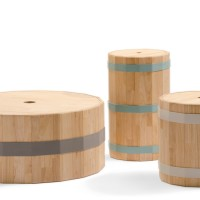 Barrels 1, 2 and 3 by Studio Teun Fleskens