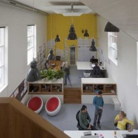 Transformation Church to Office by HOYT Architects