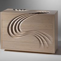 Cascade Chest of Drawers by Martin Gallagher