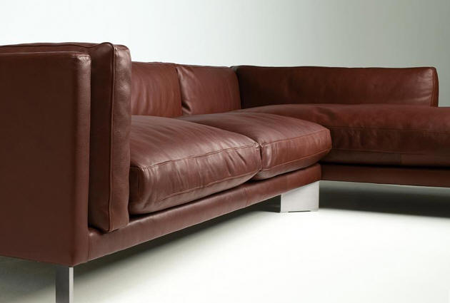Wood Products Sofas Berto Salotti Leather Soft Bench Sectional Sofa