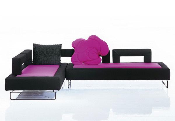 Sofa plupp flexible furniture