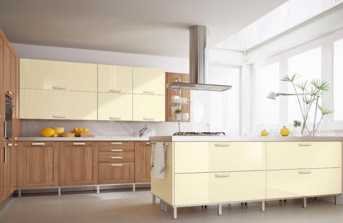 Wood - Furniture.biz | Products | Kitchen Furniture | Cucine Lube | Gaia