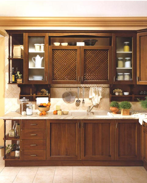 Wood Products Kitchen Furniture