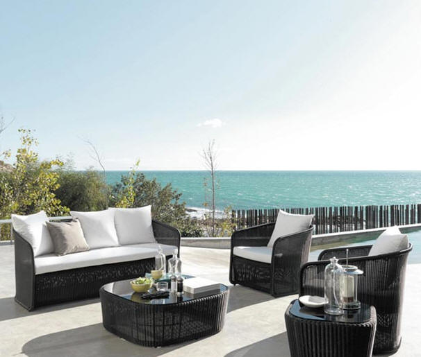 Wood products outdoor furniture for Sofa exterior terraza
