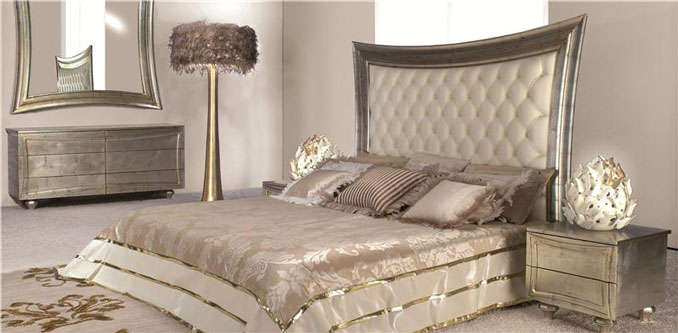 Wood   Furniture.biz | Products | Bedroom Furniture | Mantellassi 1926 | Marilyn  Bed