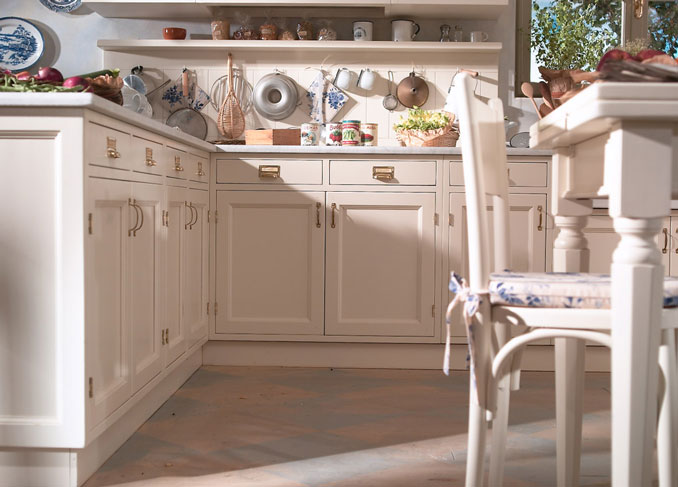 Cucine Old Style. Good Oyster Kitchen In Oak Old Wood With Cucine ...