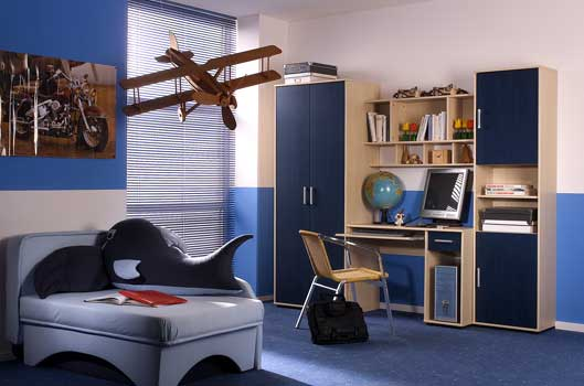 Modern Luxury Children's Room Cabinets