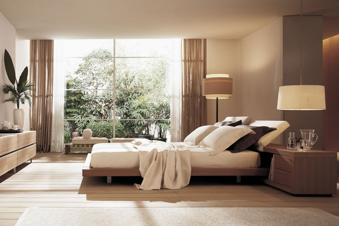 Wood   Furniture.biz | Products | Bedroom Furniture | Poliform | Zoe Bed
